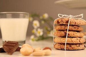 Schoko-Nuss Cookies