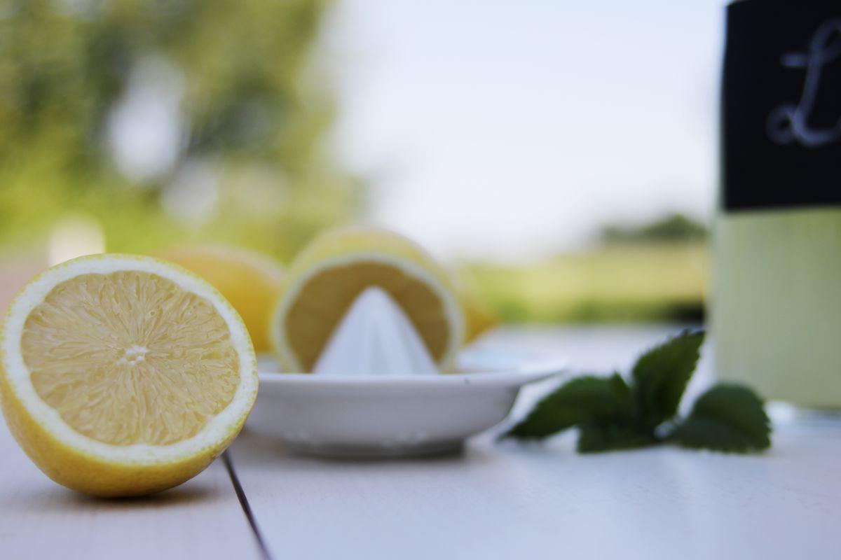 Zitronenlimonade  selbstgemacht
