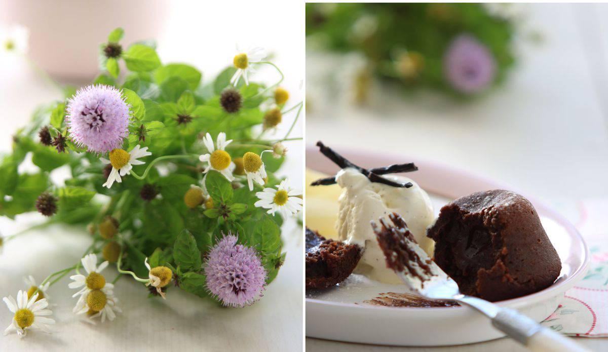Vanilleeis für Birne Helene