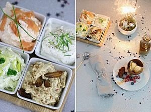 Silvesterideen & DIY Dessertschalen