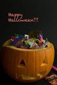 Ein Kürbis drei Ideen : toll für Halloween