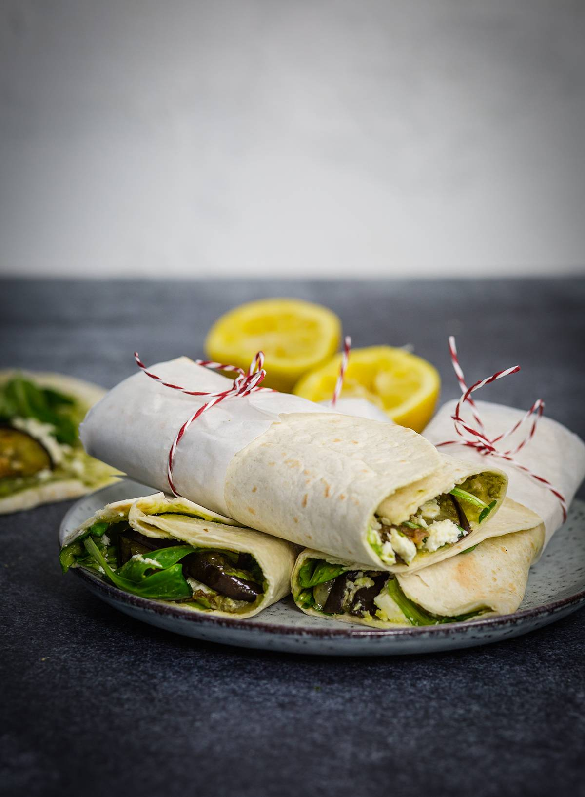 Avocado Wraps ein idealer Bürosnack und auch fürs Picknick toll
