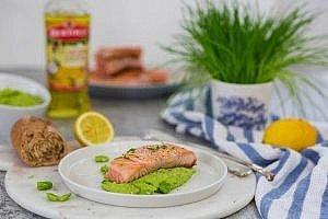 Lachs: ein super schnelles Mittagsgericht