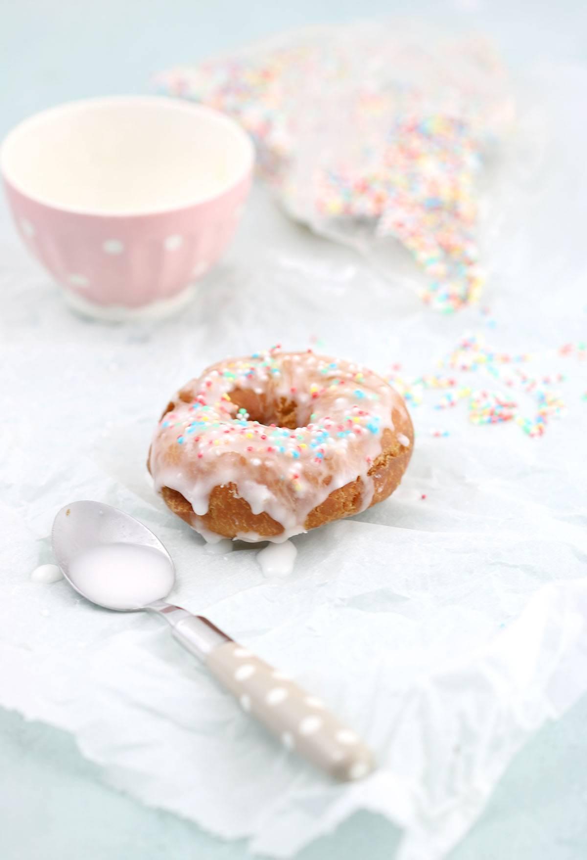 Donuts backen