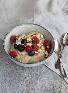 Porridge ein gesundes leckeres Frühstück