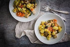 Rezept Putengeschnetzeltes mit Gnocchi