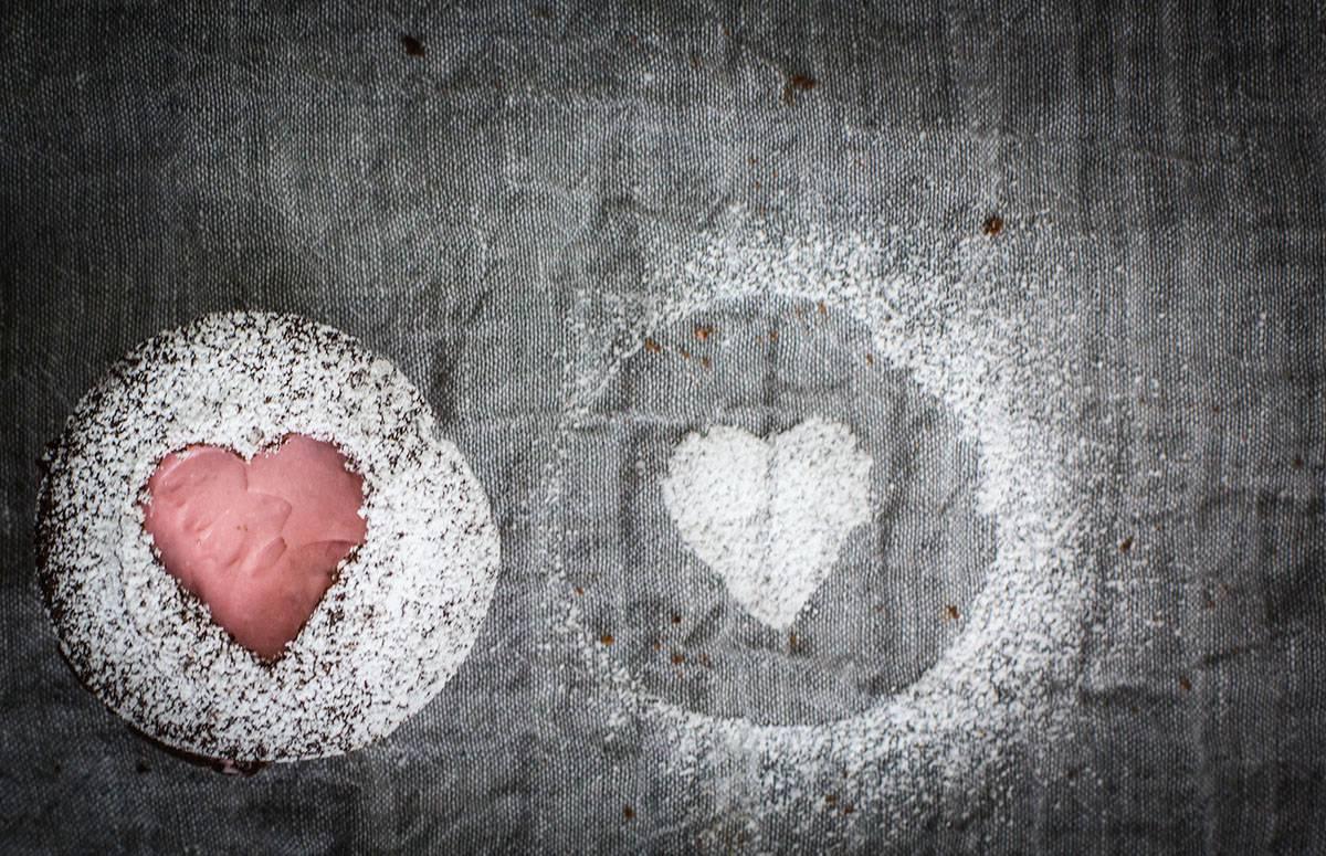 Valentinstags-Muffins