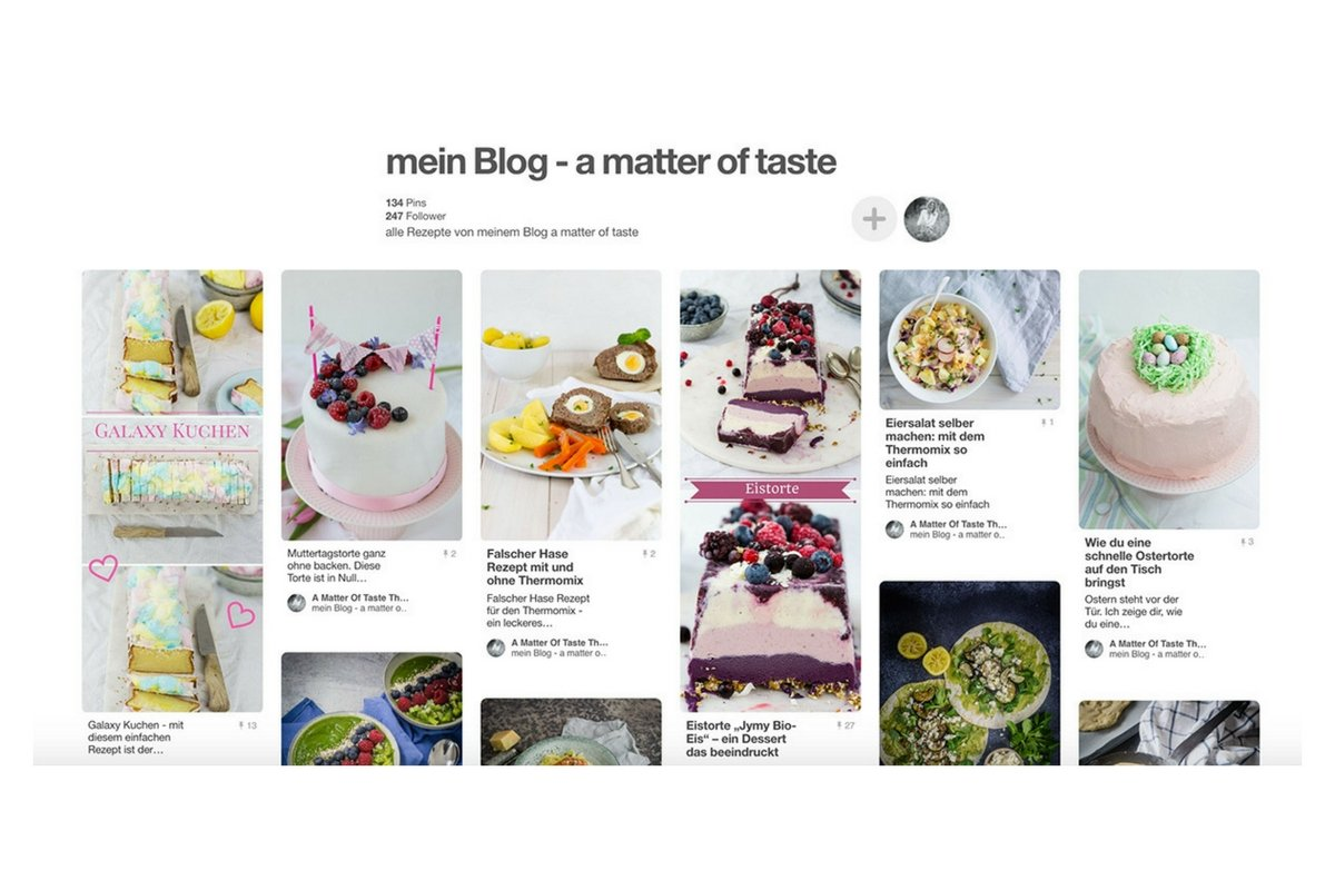 Pinterest a matter of taste