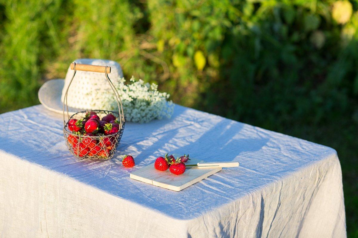 Erdbeerkuchen mit Vanillepudding Rezept