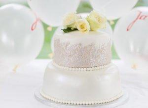Fondant Torte Rezept – einfache Hochzeitstorte
