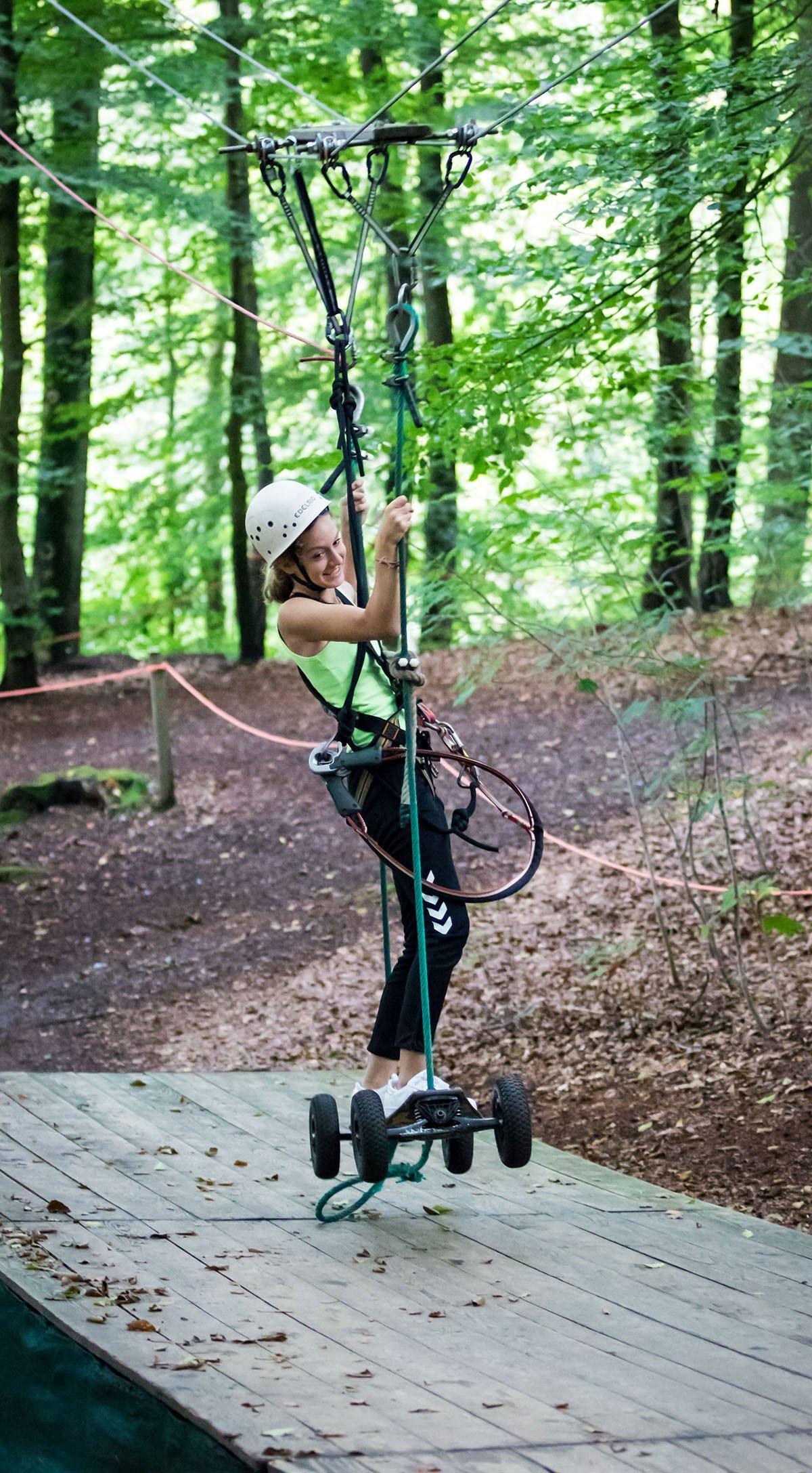 Hochseilgarten Altenhof Kletterspaß für die ganze Familie
