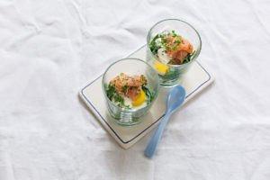 tolle Frühstücksidee: Ei im Glas