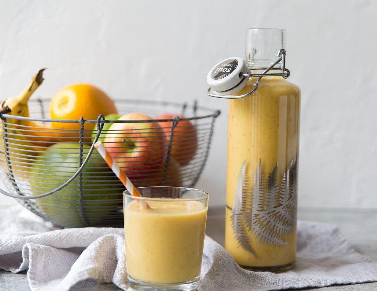 Leckerer Frühstücks Smoothie Thermomix Rezept