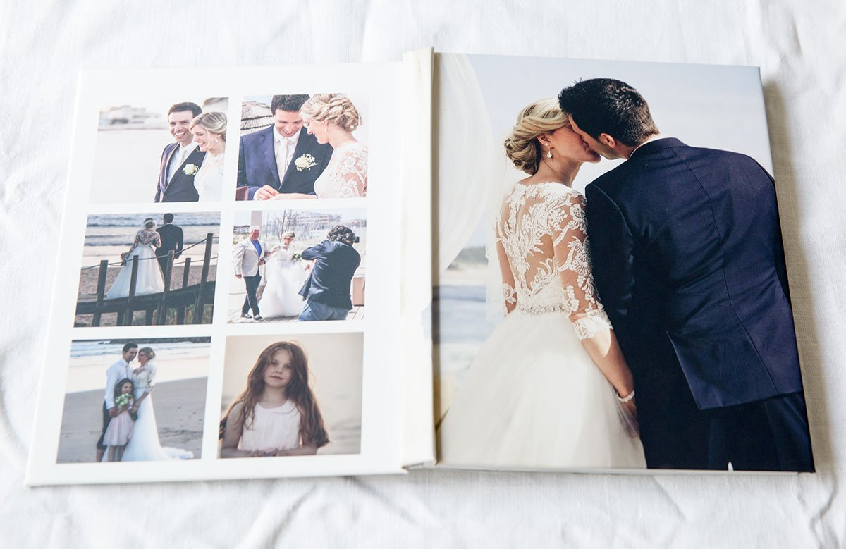 Saal Digital Fotobuch erstellen mit Vorlage