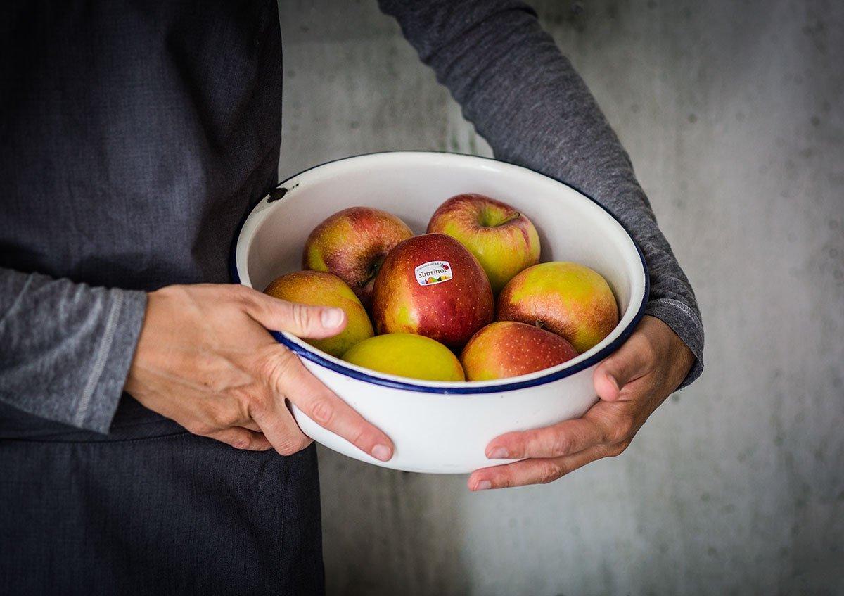 Apfel Crumble Rezept mit Braeburn Äpfeln