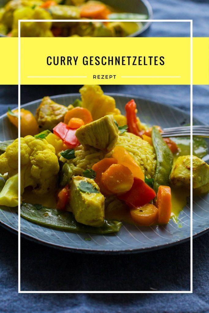Rezept Curry Geschnetzeltes - toll für die ganze Familie