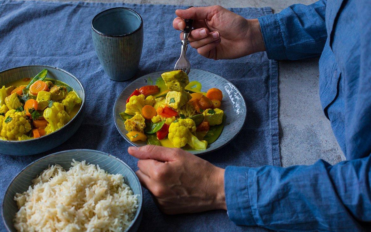 Curry Geschnetzeltes Rezept