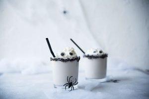 Geister Milchshake für Halloween
