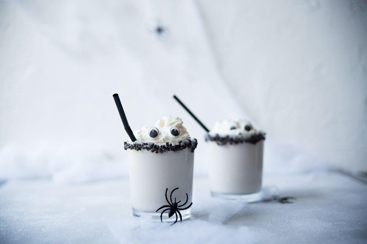 Geistermilchshake für Halloween