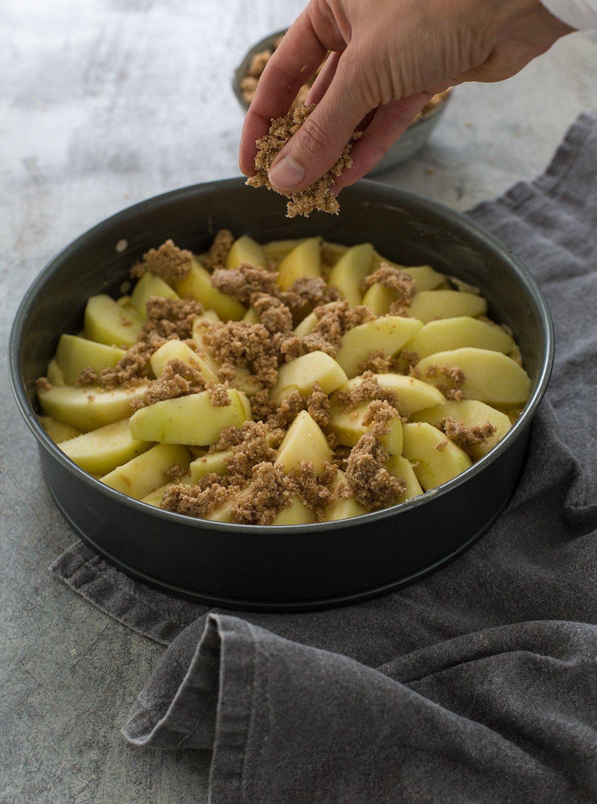 saftiger Apfelkuchen wie von Oma