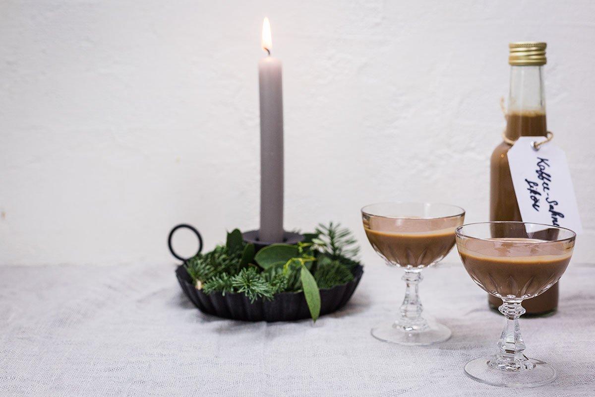 Toffeelikör mit oder ohne Thermomix zubereiten