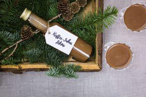Toffeelikör selber machen –  plus kostenlose Etiketten