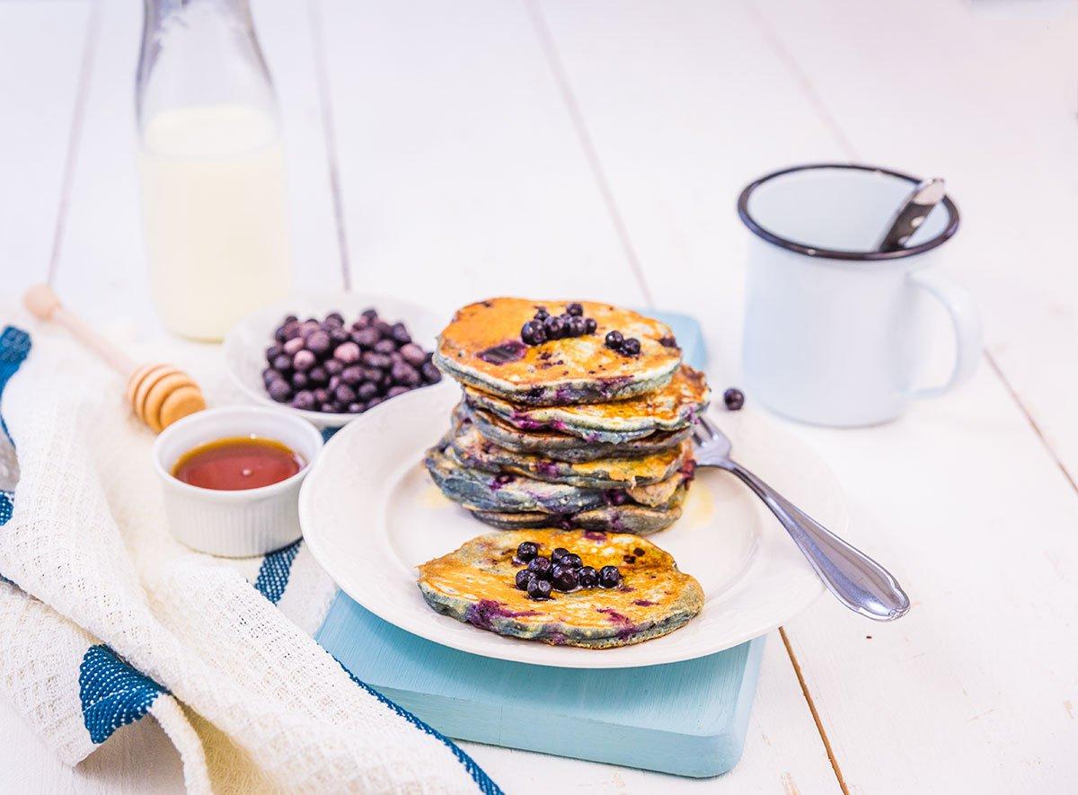 Rezept Pancakes mit Blaubeeren