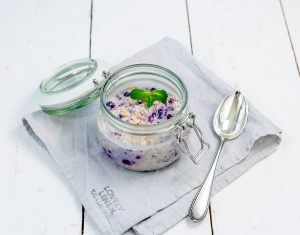Overnight Oats- das perfekte Frühstück für Morgenmuffel