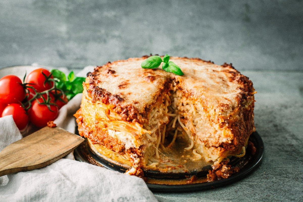 Spaghetti Torte Rezept