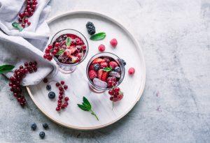 Switchel mit Beeren- ein tolles sommerliches Erfrischungsgetränk