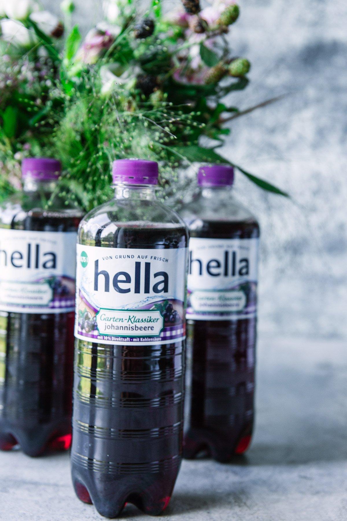 Switchel mit Beeren - ein sommerliches Erfrischungsgetränk