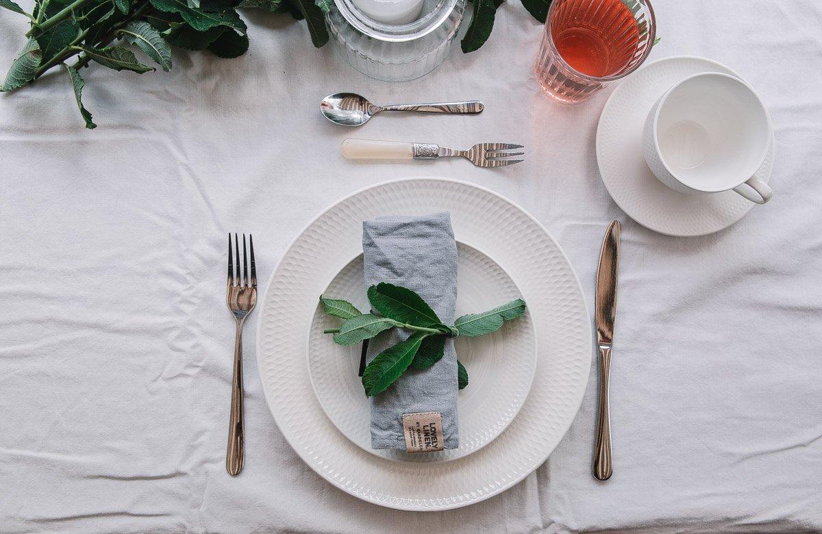 Tisch Eindecken Mit Anleitung Zum Ausdrucken Sommerlicher Tischdeko A Matter Of Taste