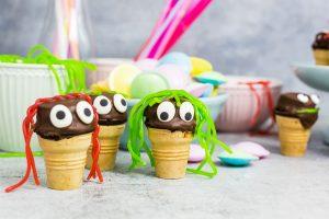 Muffins im Waffelbecher – toll für Kindergeburtstage