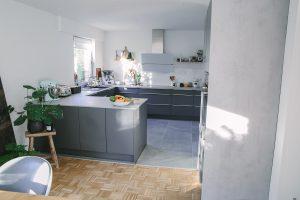 neue Küche – mit Vorher/Nachher-Bilder