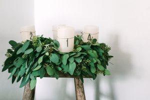 Adventskranz binden aus Eukalyptus – so geht´s