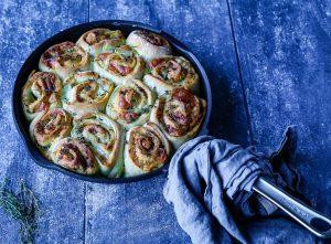 Zupfbrot Rezept – Mozzarellabrot aus Jamie kocht Italien + Gewinnspiel
