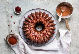 einfacher Schokoladenkuchen mit Spekulatius – aus dem Buch Hello Snow