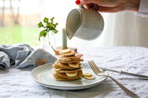Bananen Pancakes – für den perfekten Start in den Tag