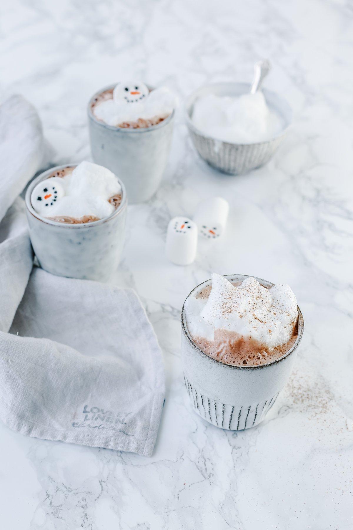 Rezept für heiße Schokolade im Thermomix