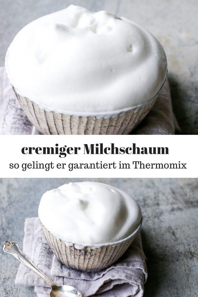 Milchschaum im Thermomix machen. Mit diesen Tipps und dem Rezept gelingt der cremige Schaum garantiert.