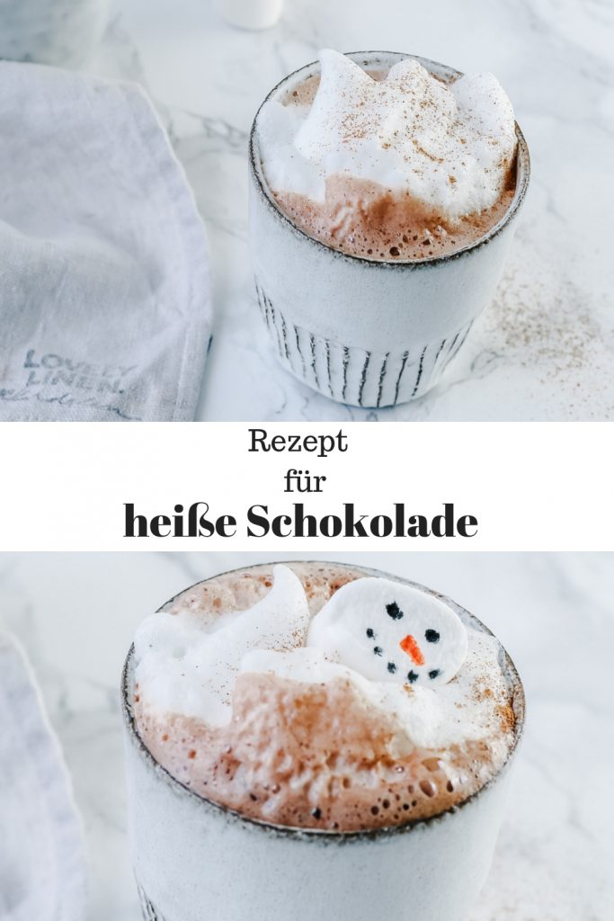 Dieses Rezept für heiße Schokolade ist himmlisch schokoladig und kann im Thermomix gemacht werden.