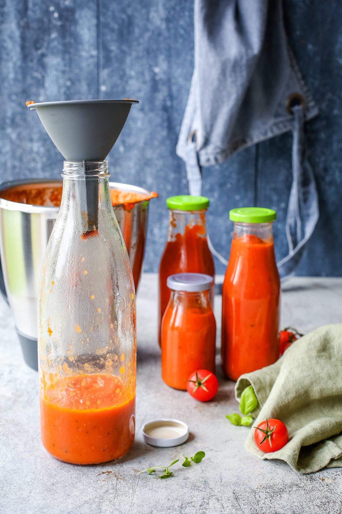 Rezept Thermomix Tomatensauce