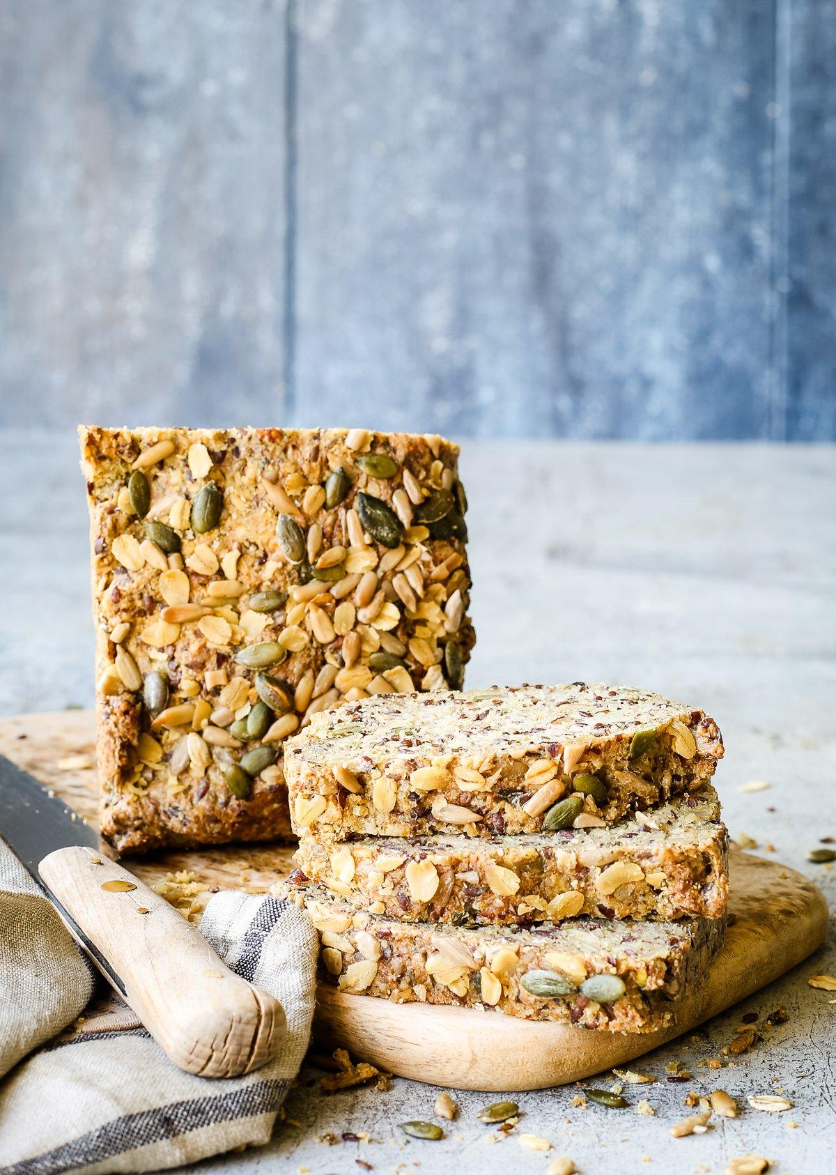 glutenfreies Thermomix Brot ohne Hefe