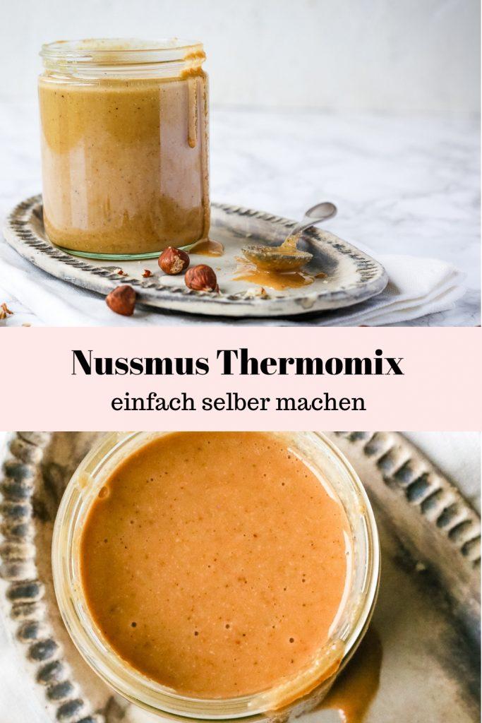 Rezept für cremiges Nussmus aus dem Thermomix. Schnell und einfach