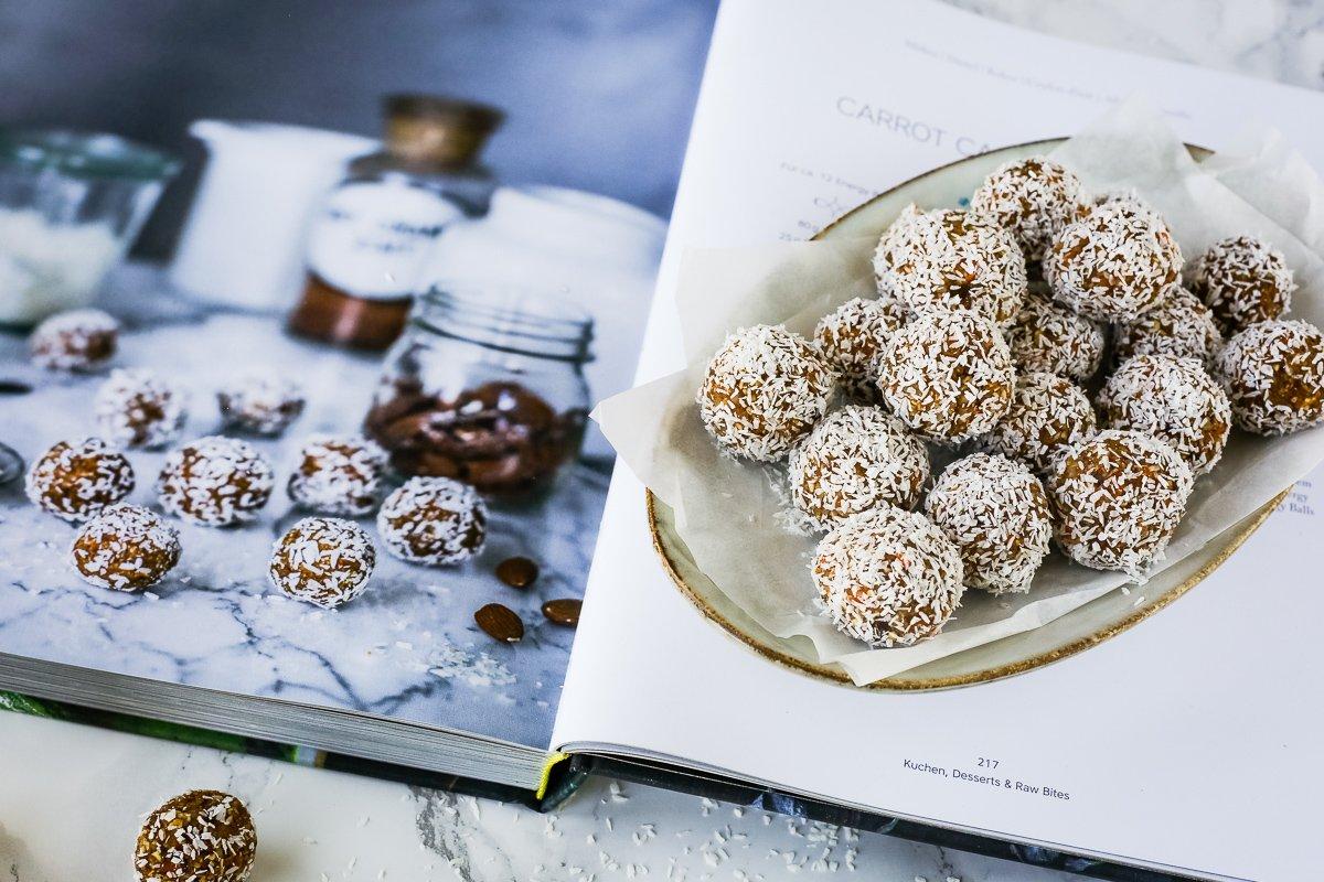 Carrot Cake Energy Balls aus dem Buch Aromenfeuerwerk vegetarisch-die neue grüne Küche
