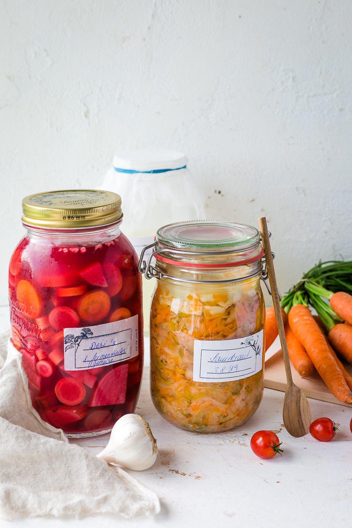 Gemuese fermentieren