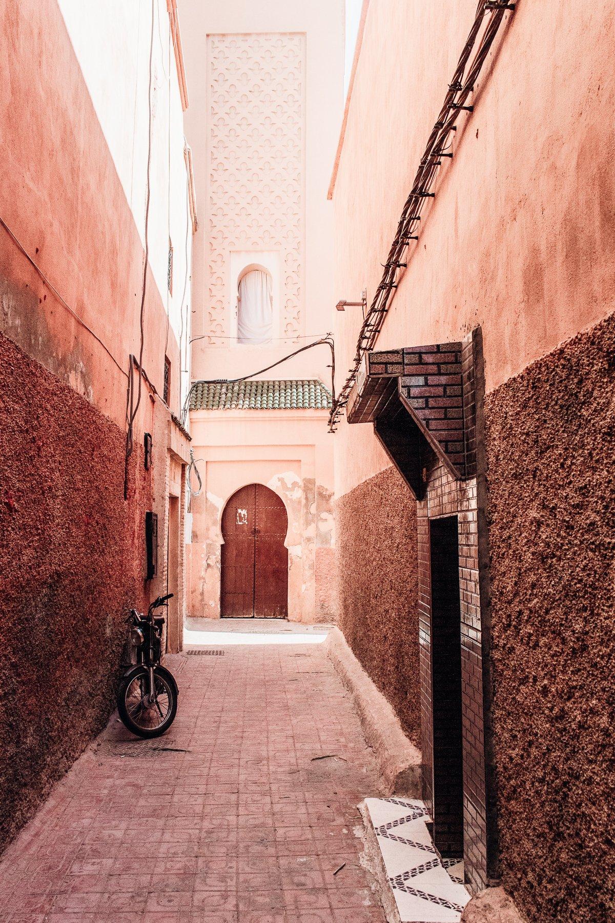 enge Gassen Marrakesch