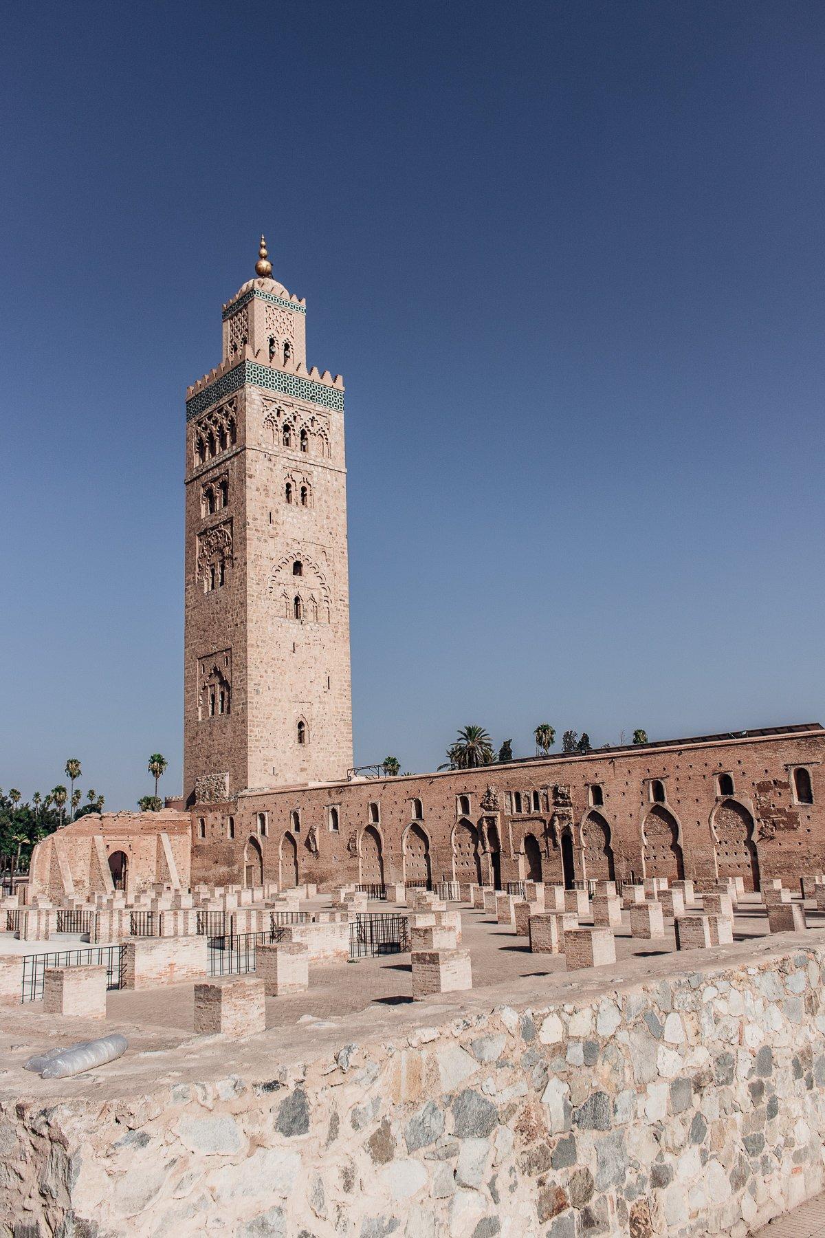 Marrakesch Moschee Koutoubia