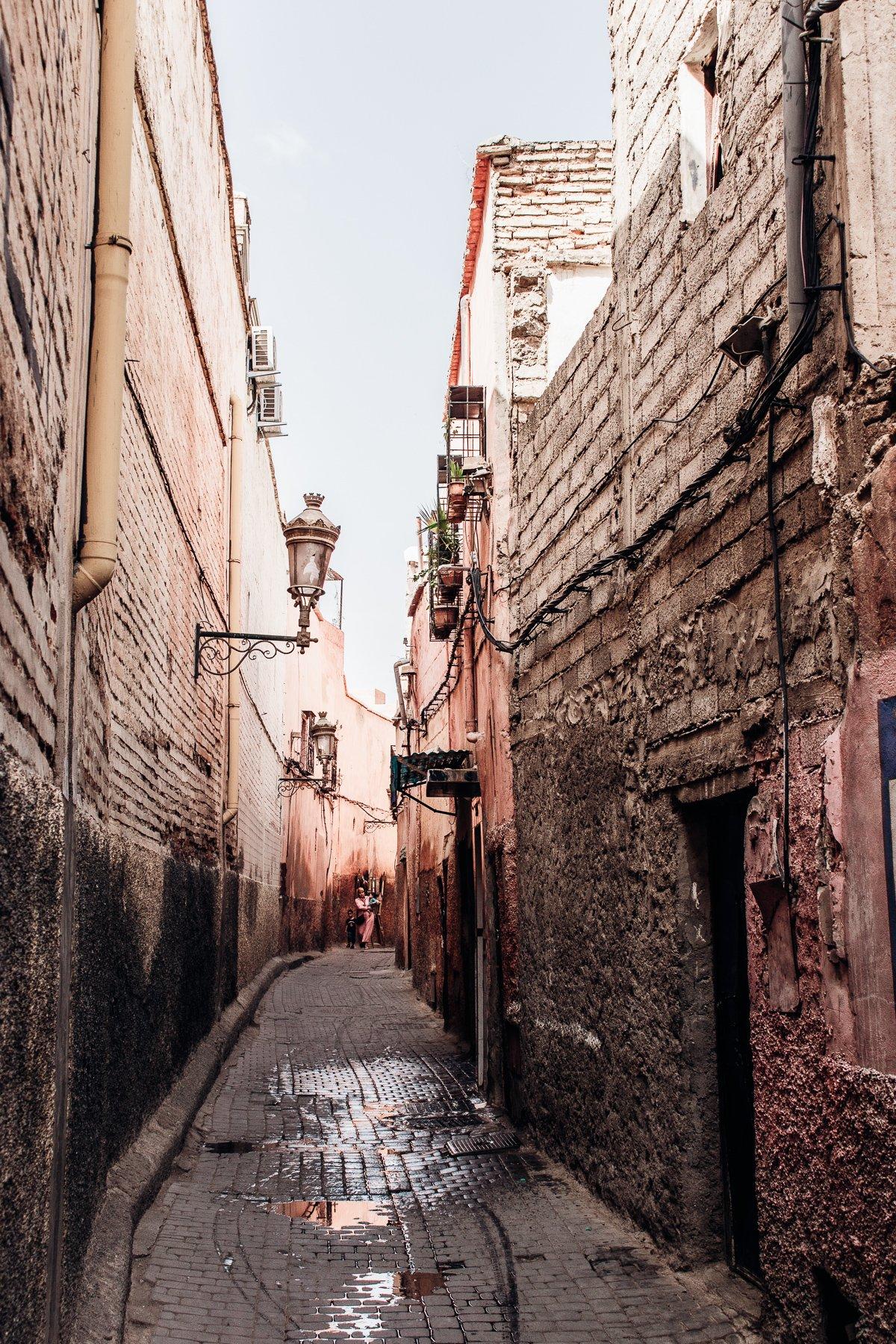 Marrakesch enge Gasse