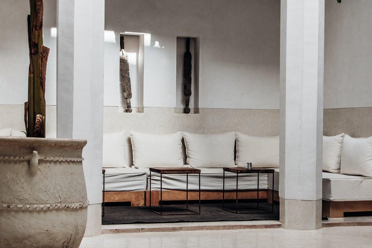 Riad 42 Marrakesch Innenhof